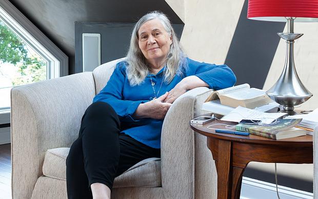 H συγγραφέας Μέριλιν Ρόμπινσον