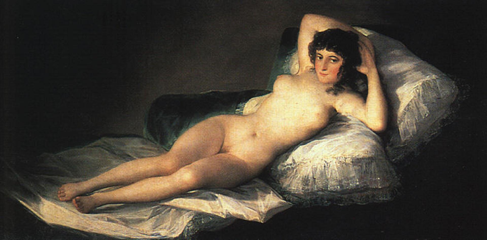Nude Maja, Francisco Goya, 1800