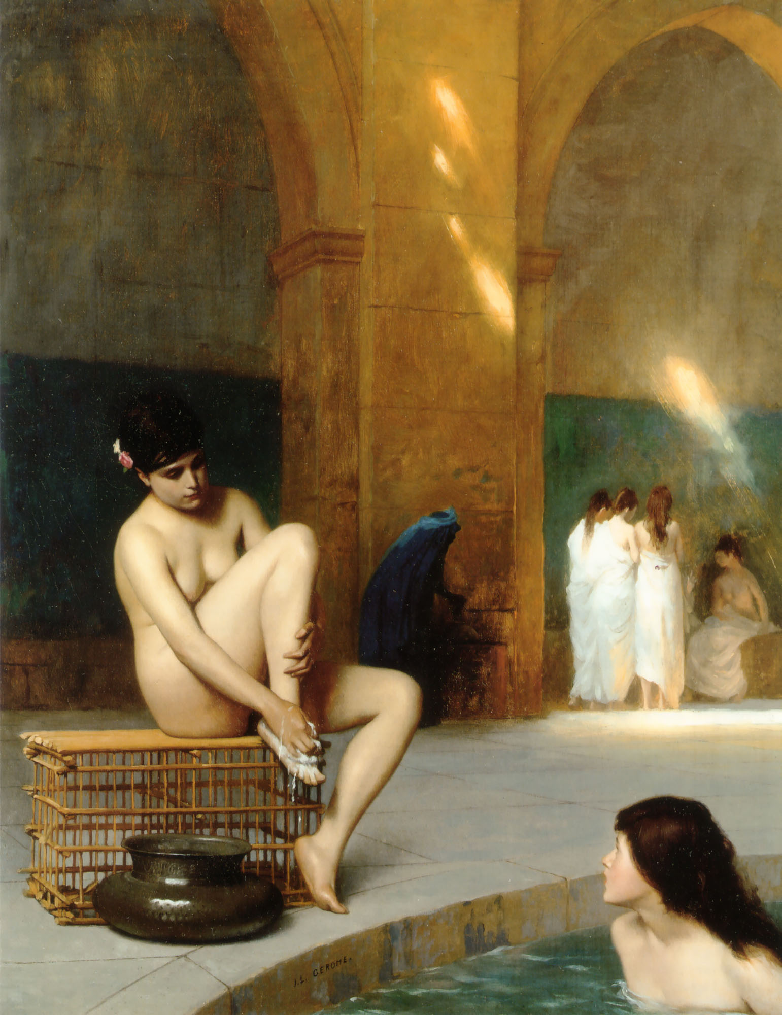 Nude Woman, Jean-Leon Gerome