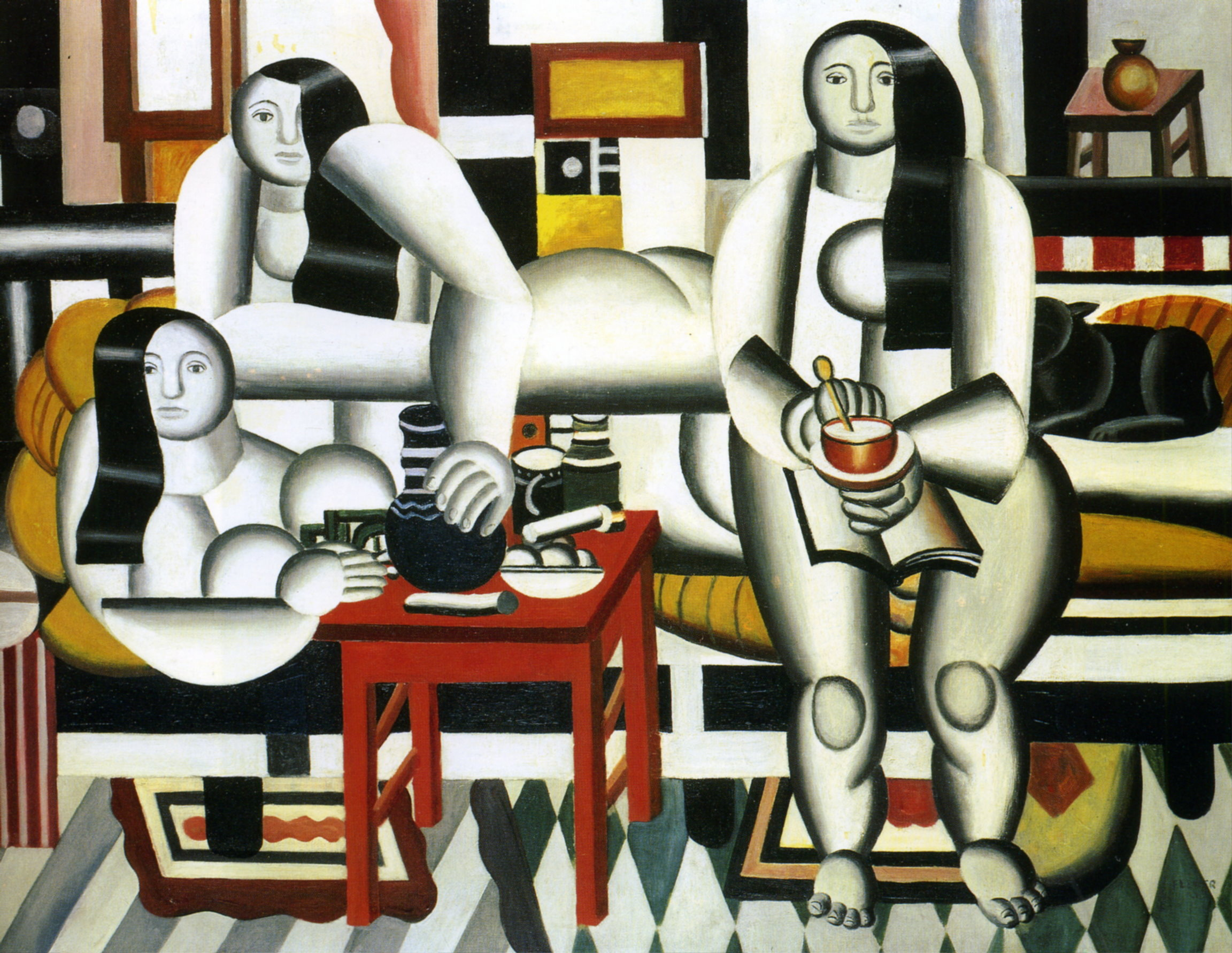 The Breakfast, Fernand Leger, 1921