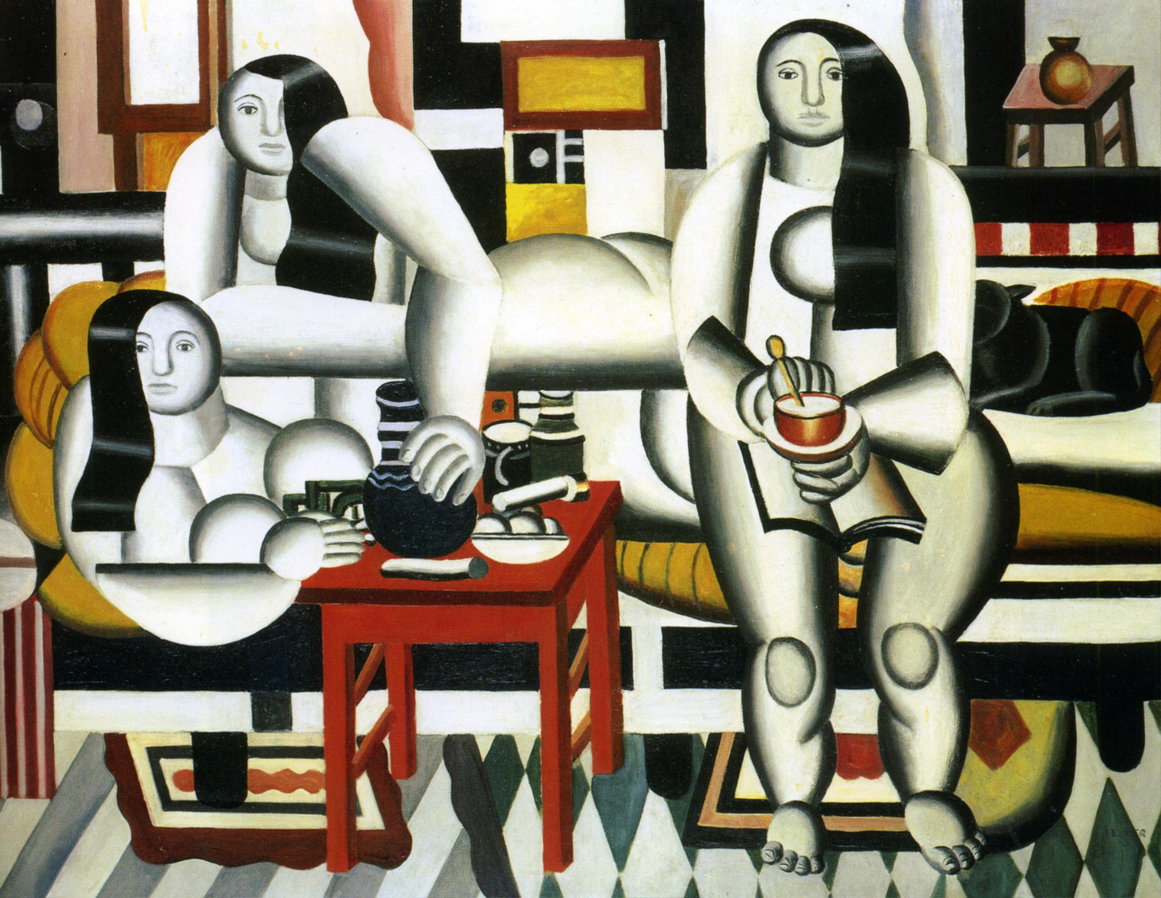 The Breakfast, Fernand Leger, 1921