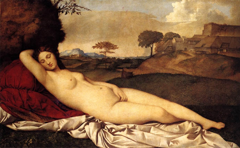 The Sleeping Venus, Giorgione, 1510
