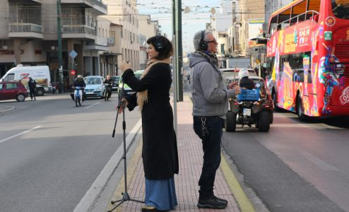 «Toubanaki - Doumanis: Drums & Voice Jazztronica project» στο Gazarte