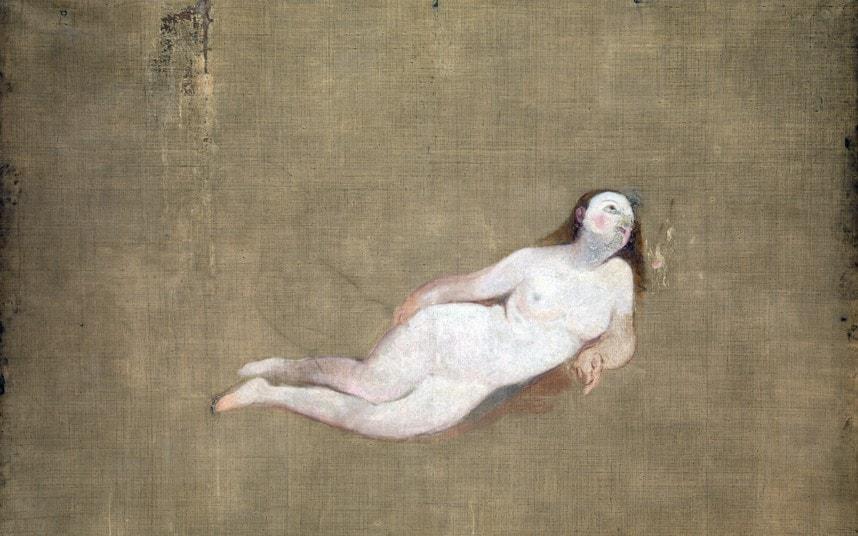 Two Recumbent Nude, William Turner, 1828