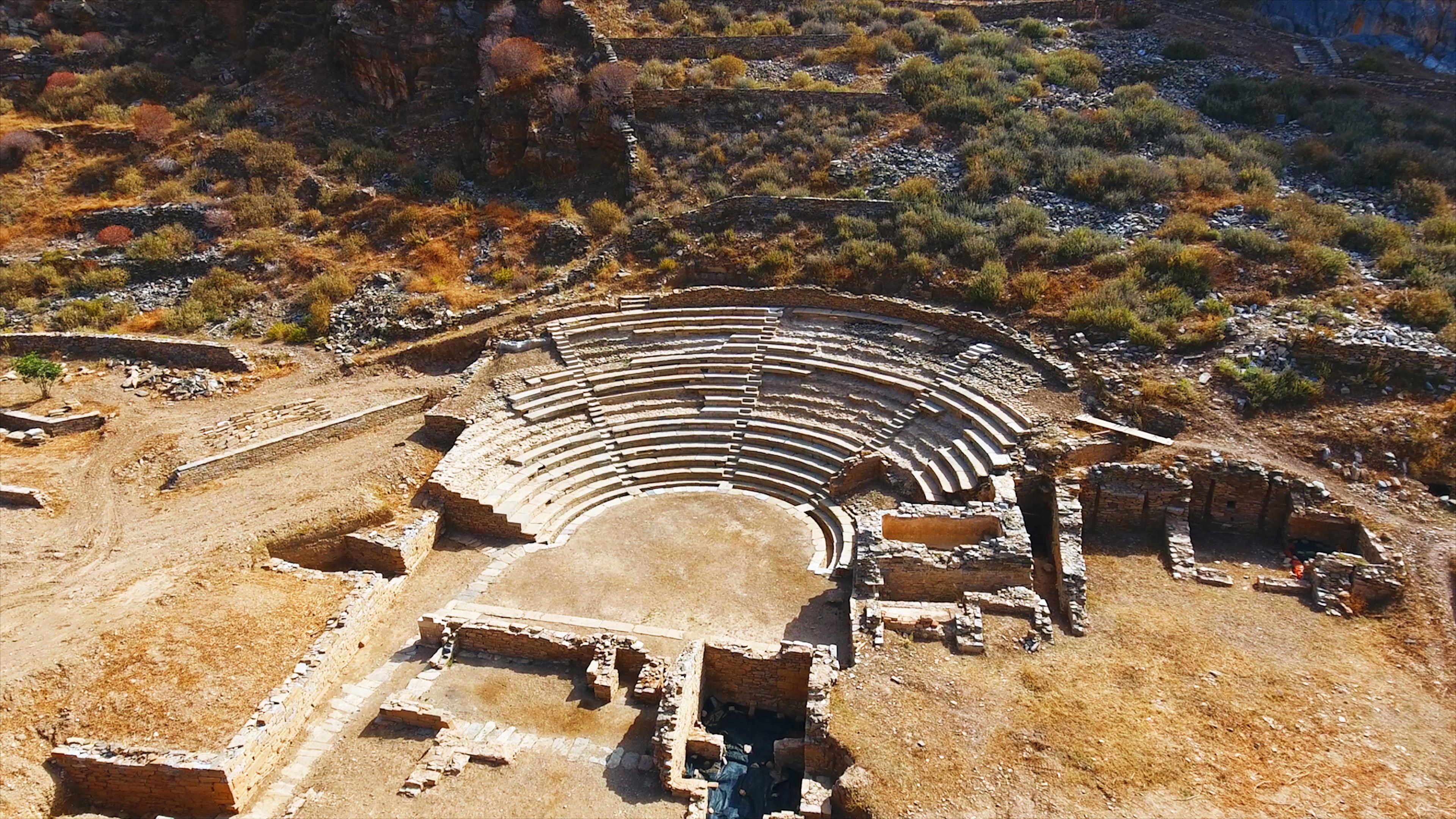 Αρχαία Πόλη της Καρθαίας, Κέα