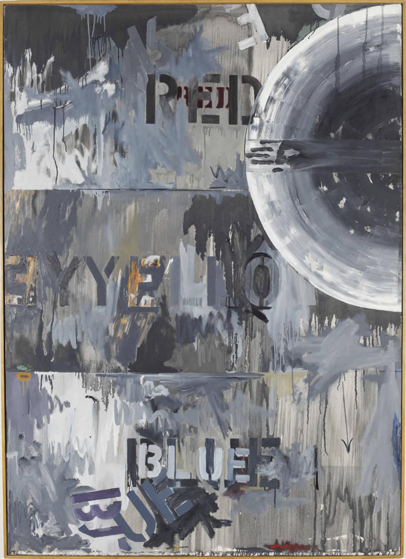 Jasper Johns Periscope (Hart Crane) 1963