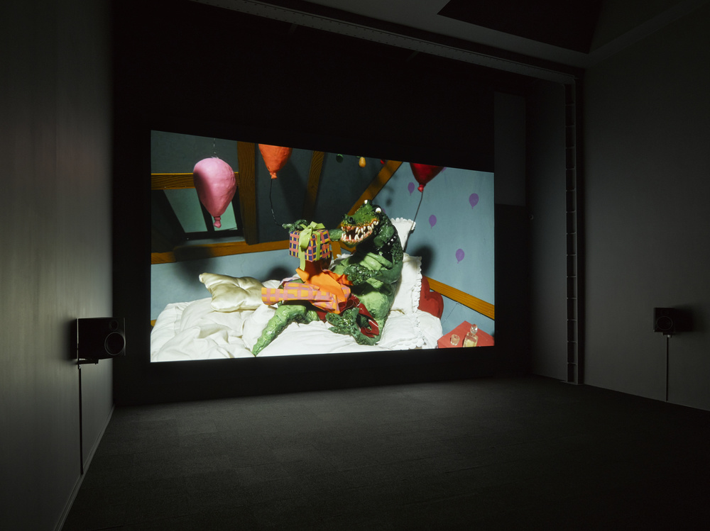 Installation view: Nathalie Djurberg & Hans Berg, Lisson Gallery