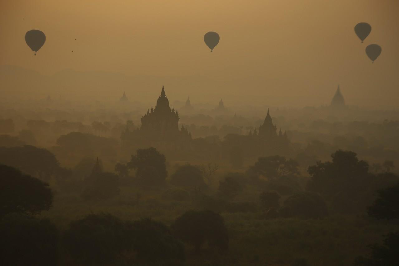 Μπαγκάν, Μιανμάρ