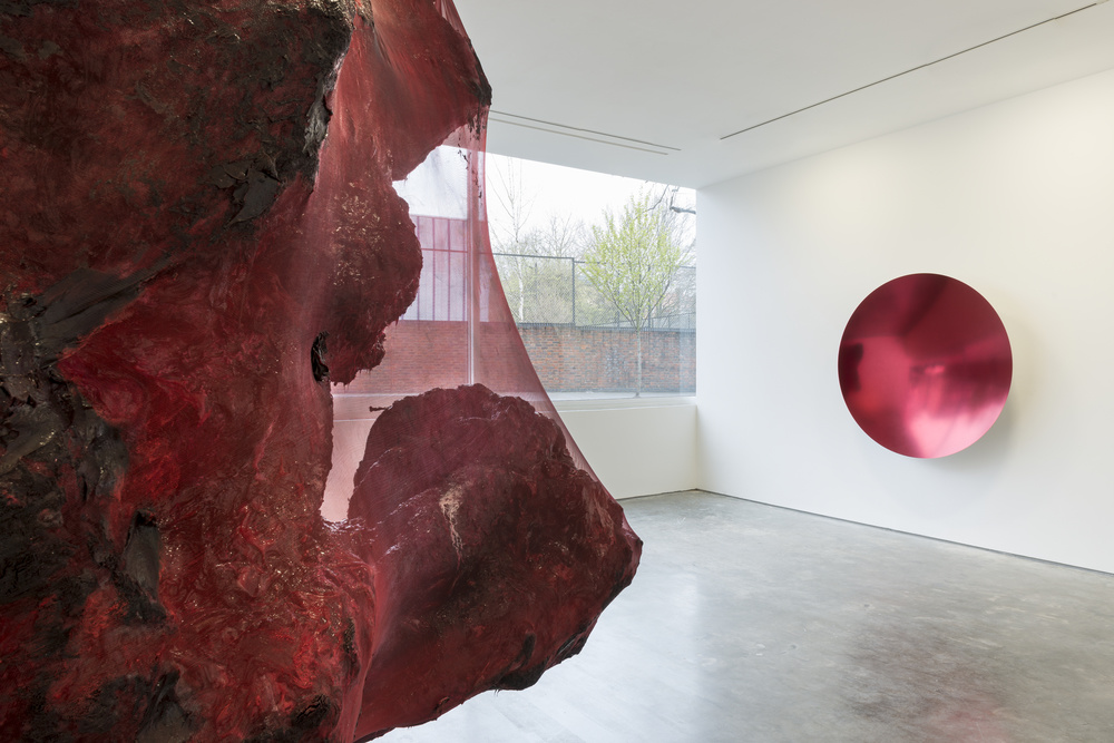 Installation view of Anish Kapoor, Lisson Gallery