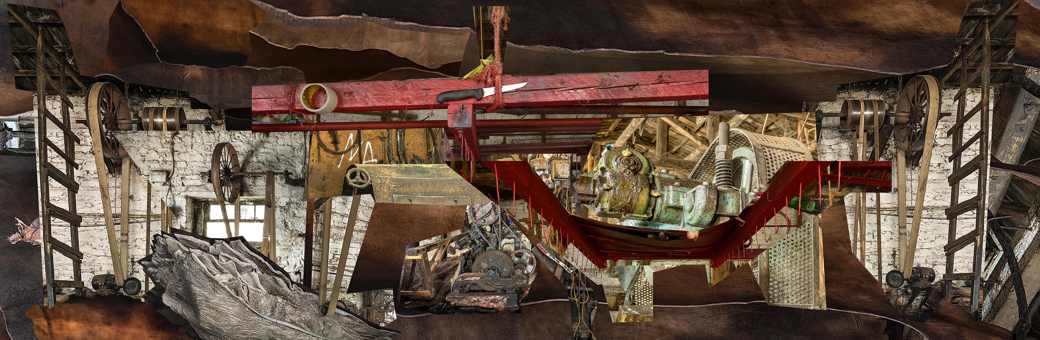Μαρία Παπαδημητρίου, Αιώνα μου, Θεριό μου, 2016 Φωτομοντάζ 180 x 550 εκ. Ανάθεση του Onassis Cultural Center New York στο πλαίσιο του Onassis Festival NY 2016: Antigone Now