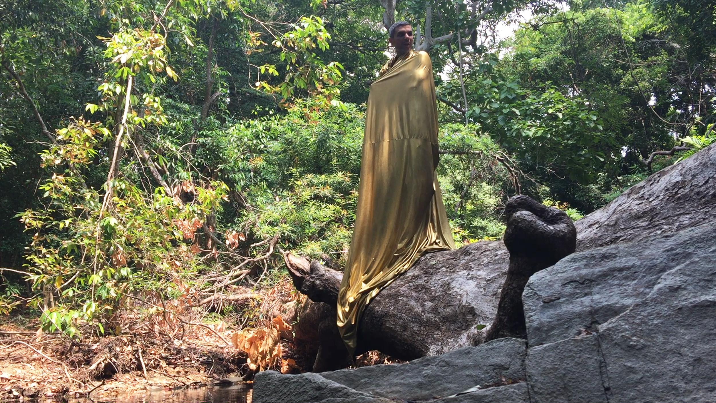 Άγγελος Πλέσσας Περφόρμανς, ανάγνωση του 5ου Μανιφέστου στο πλαίσιο του Eternal Internet Brother/Sisterhood, Σρι Λάνκα, 2016