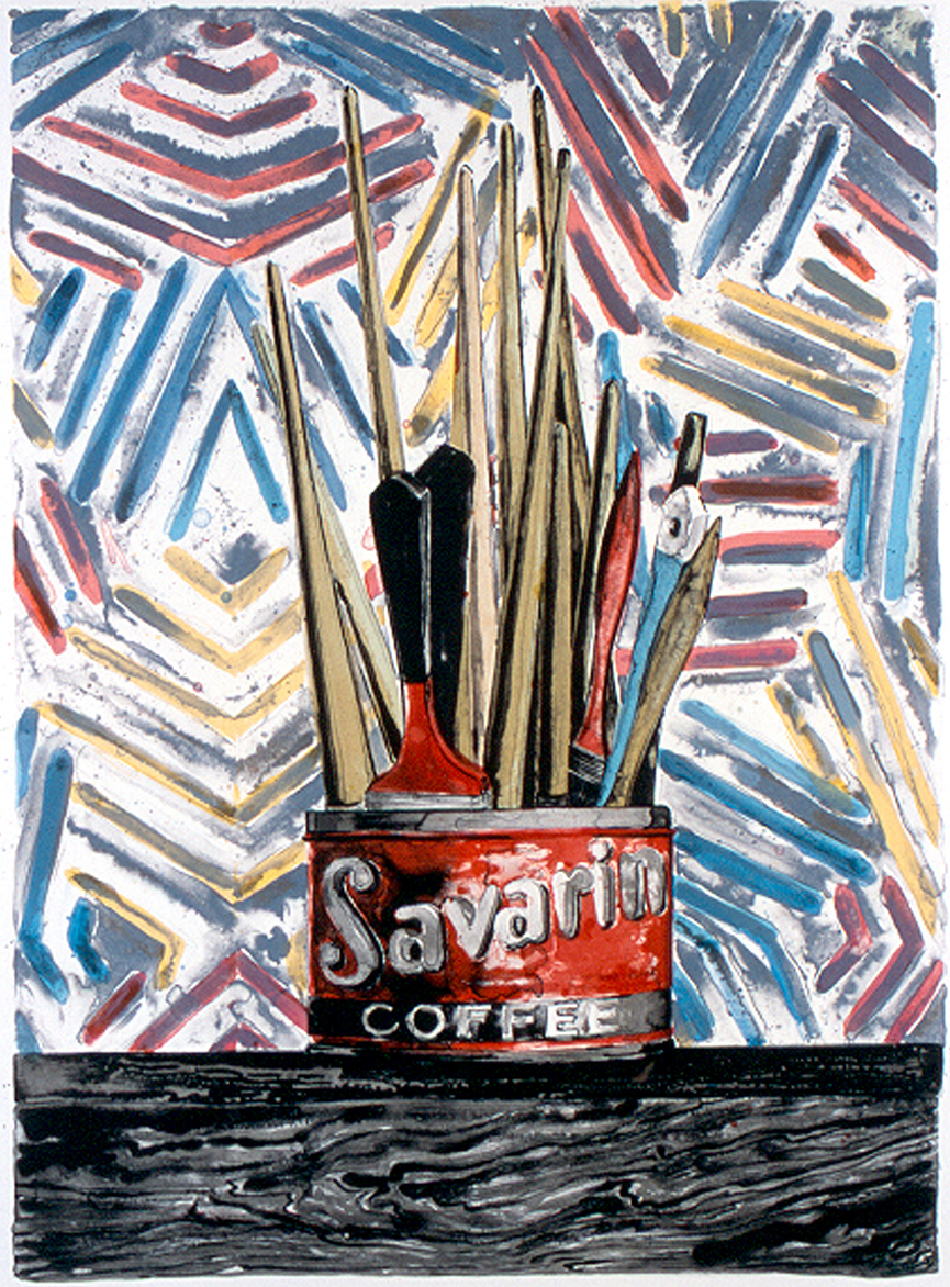 Jasper Johns, Savarin (1977)