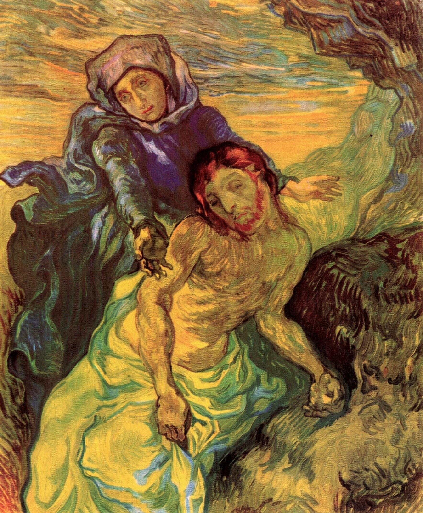 Pieta, Vincent van Gogh