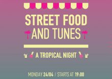 «Street Food and Tunes: A Tropical Night» στο The Big Kahuna