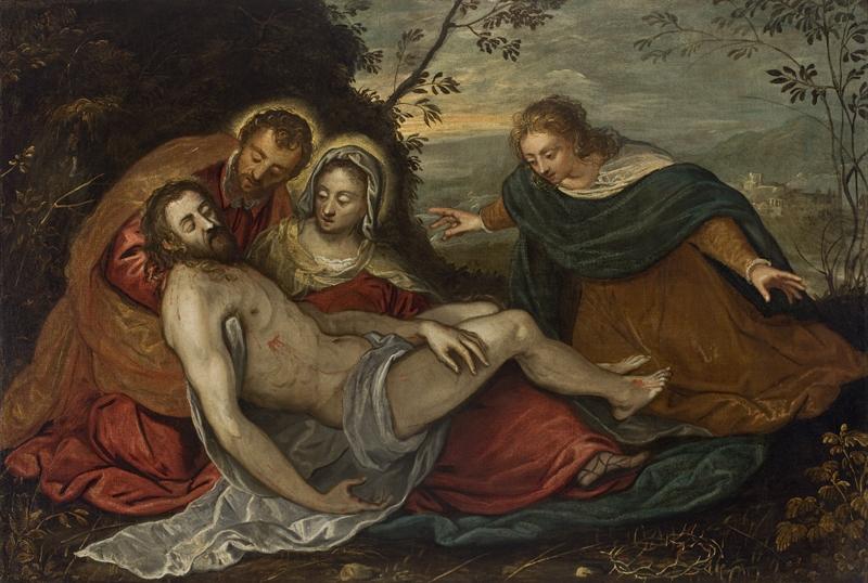 The Lamentation Over The Dead Christ (Pietà), Tintoretto