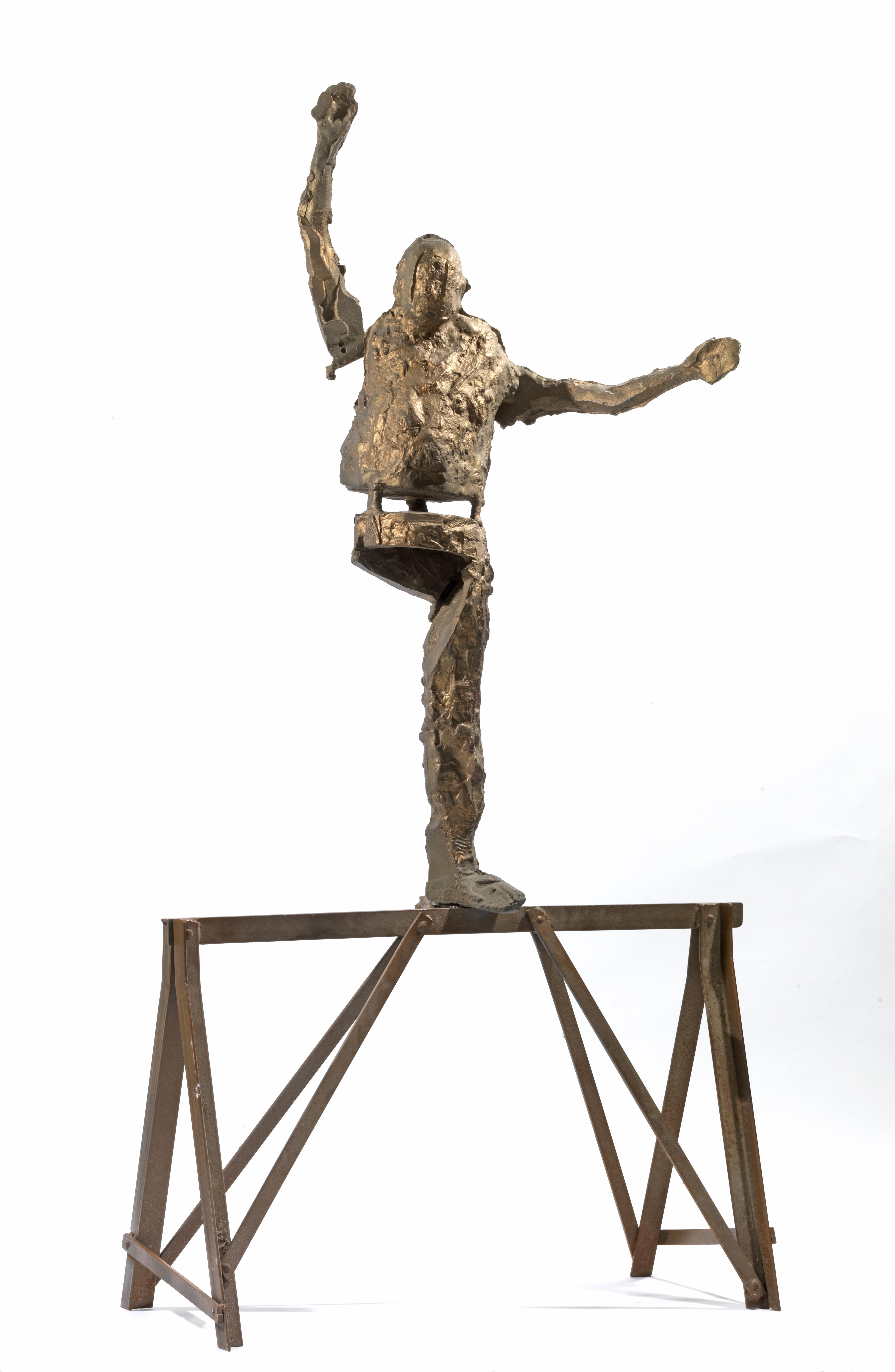 Ισορροπιστής, Μπρούντζος, 121x62x34, 2015