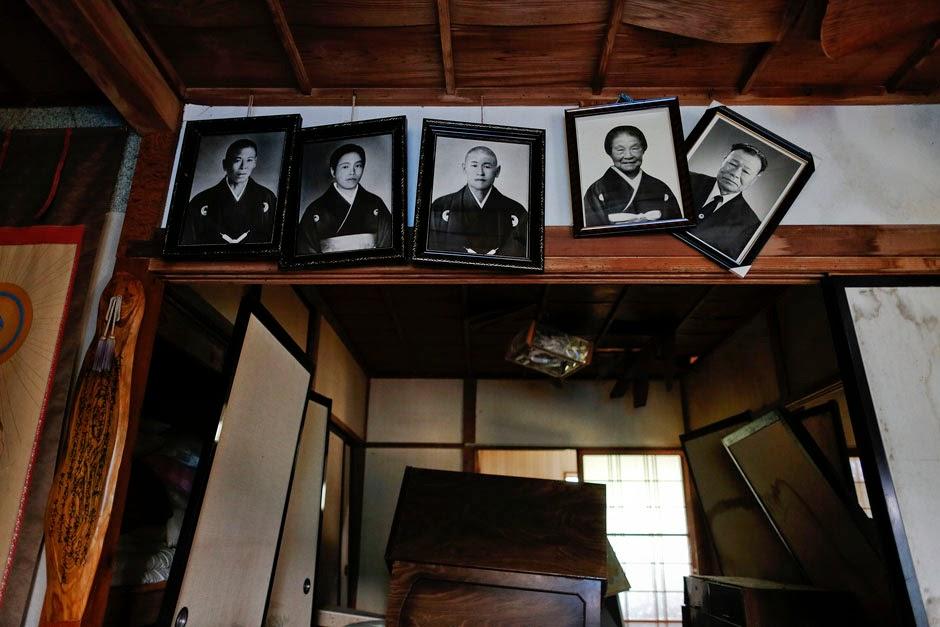 Εγκαταλελειμένο σπίτι στην Φουκουσίμα