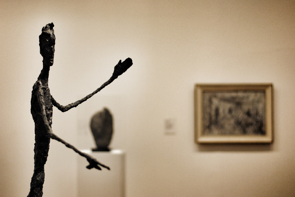 Alberto Giacometti, Man Pointing 1947