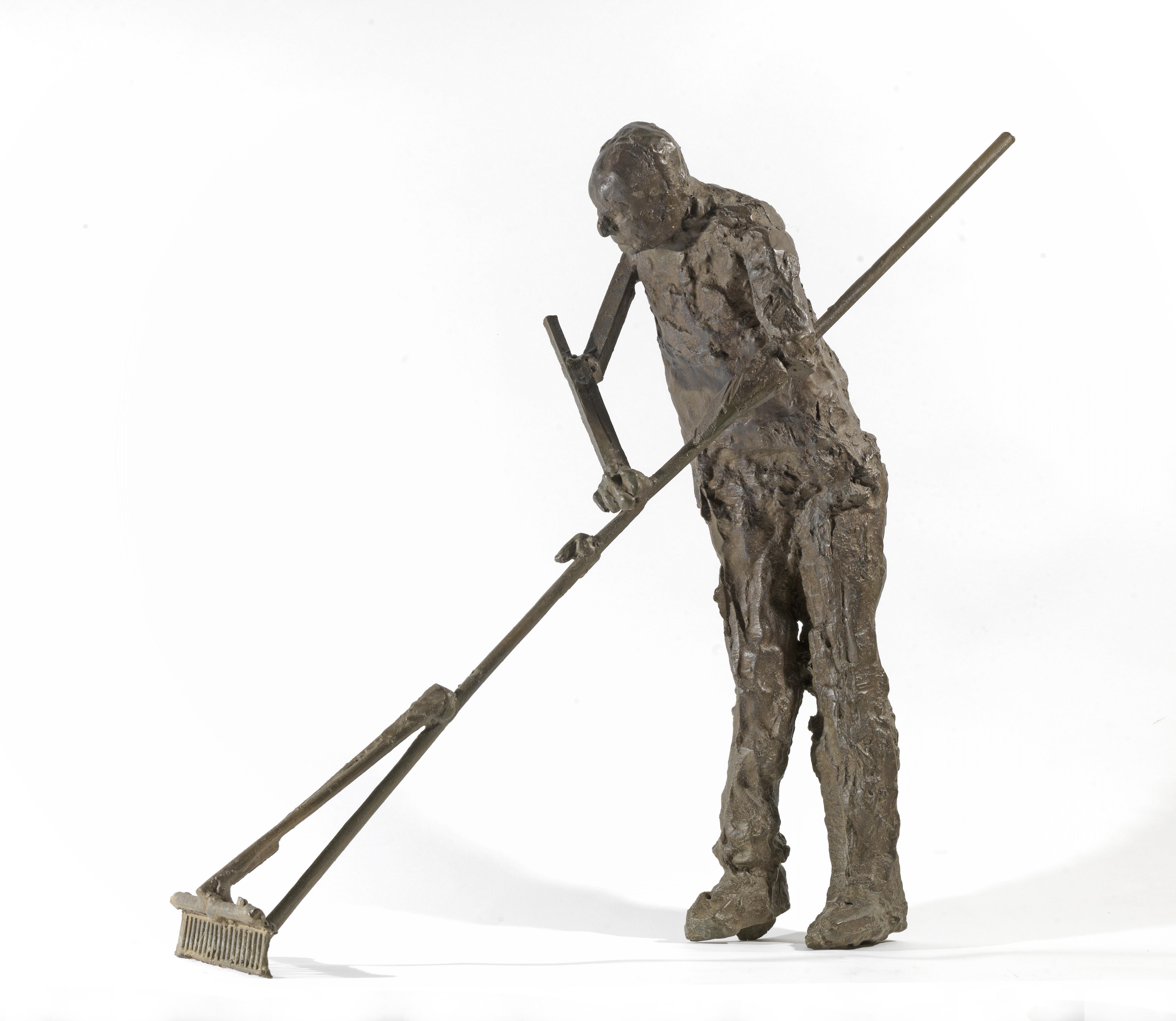 Κηπουρός στο Ταβάνι, Μπρούντζος, 57x58x22, 2015