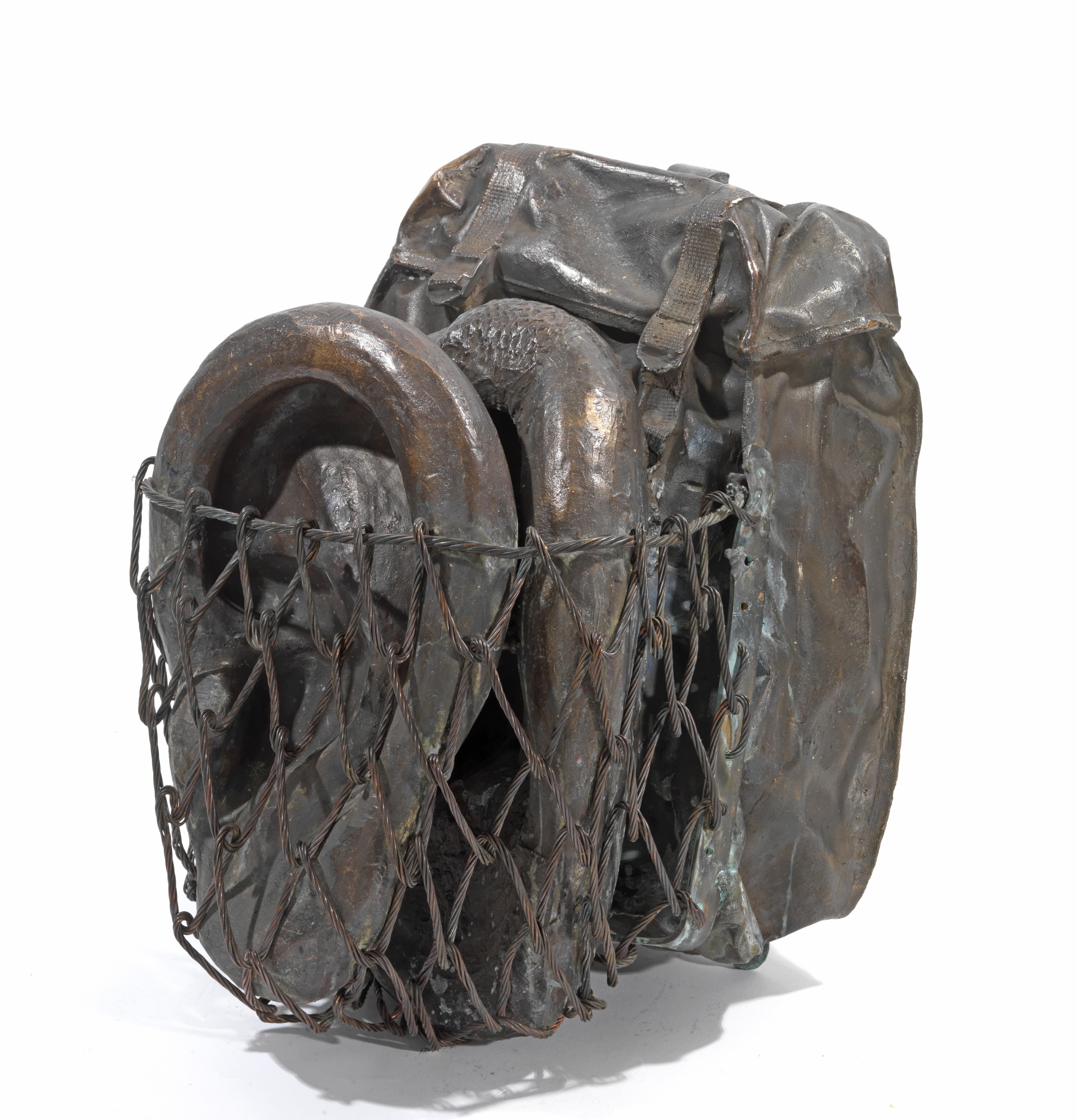 Σακίδιο με Αυτιά, Μπρούντζος, 39 Χ 28 Χ 34, 2013
