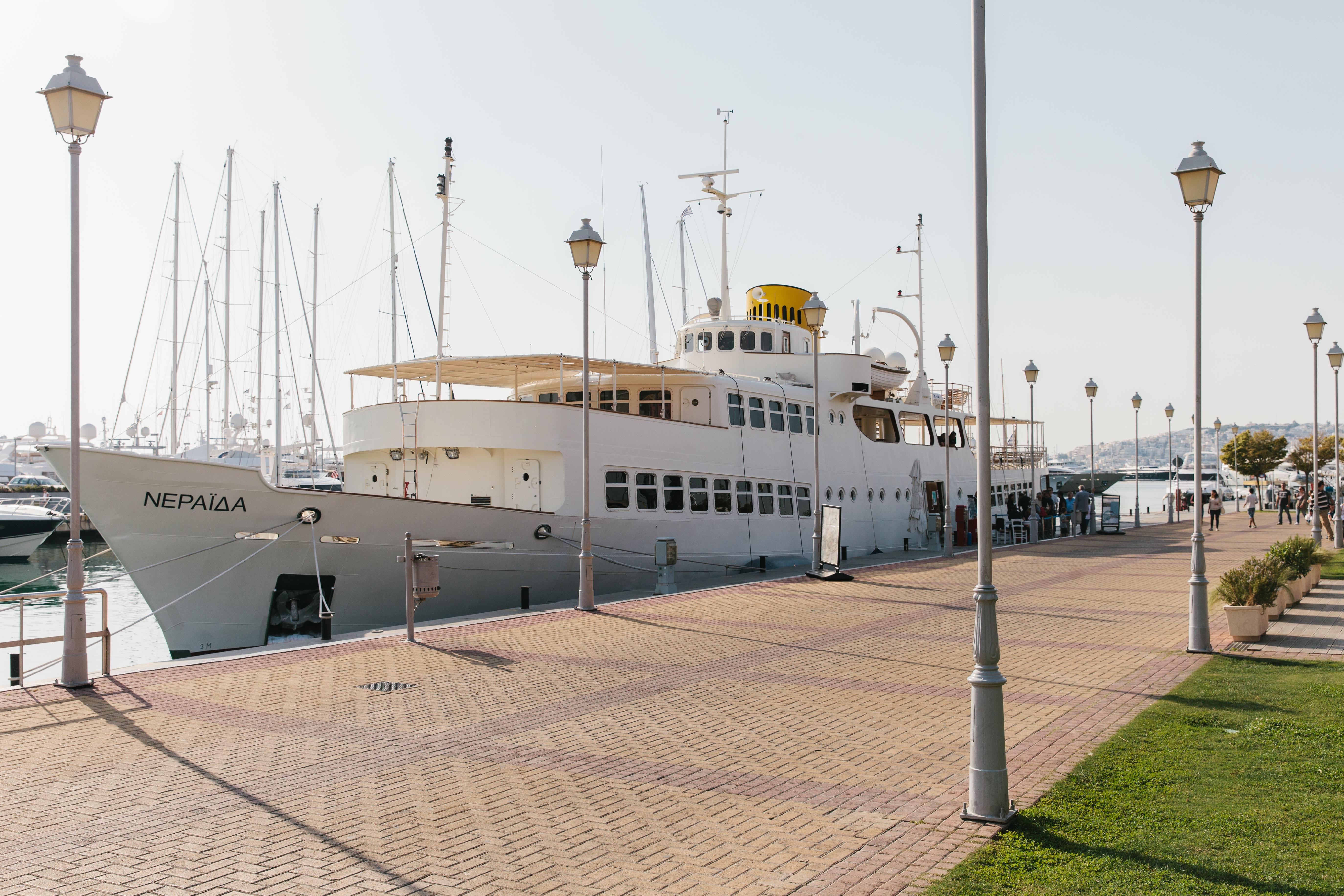 Το Πλωτό Μουσείο Νεράιδα (Φωτο: Π. Ταβιτιάν)