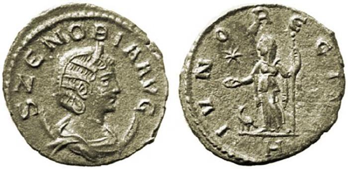Νομίσματα της Ζηνοβίας