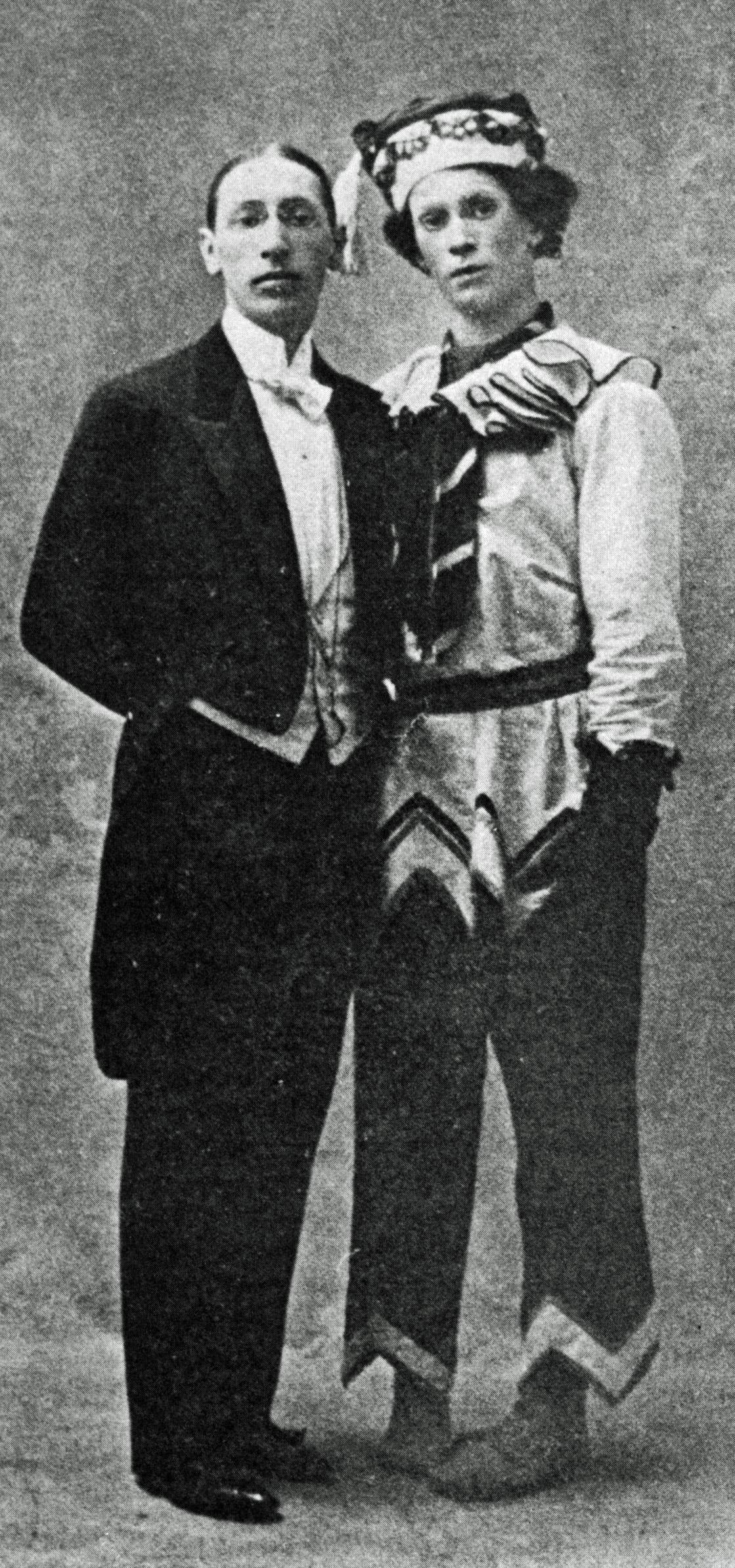 """Ο Νιζίνσκι και ο Στραβίνσκι στο ανέβασμα της """"Πετρούσκα"""""""