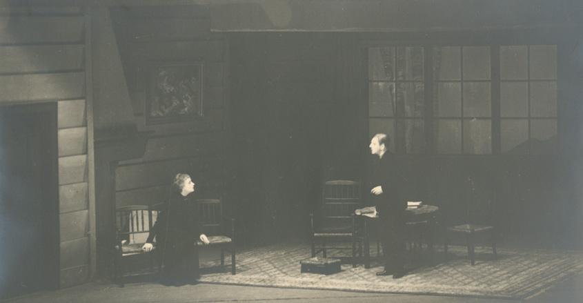 Βρυκόλακες, Εθνικό Θέατρο, Κατίνα Παξινού, Αλέξης Μινωτής, 1934