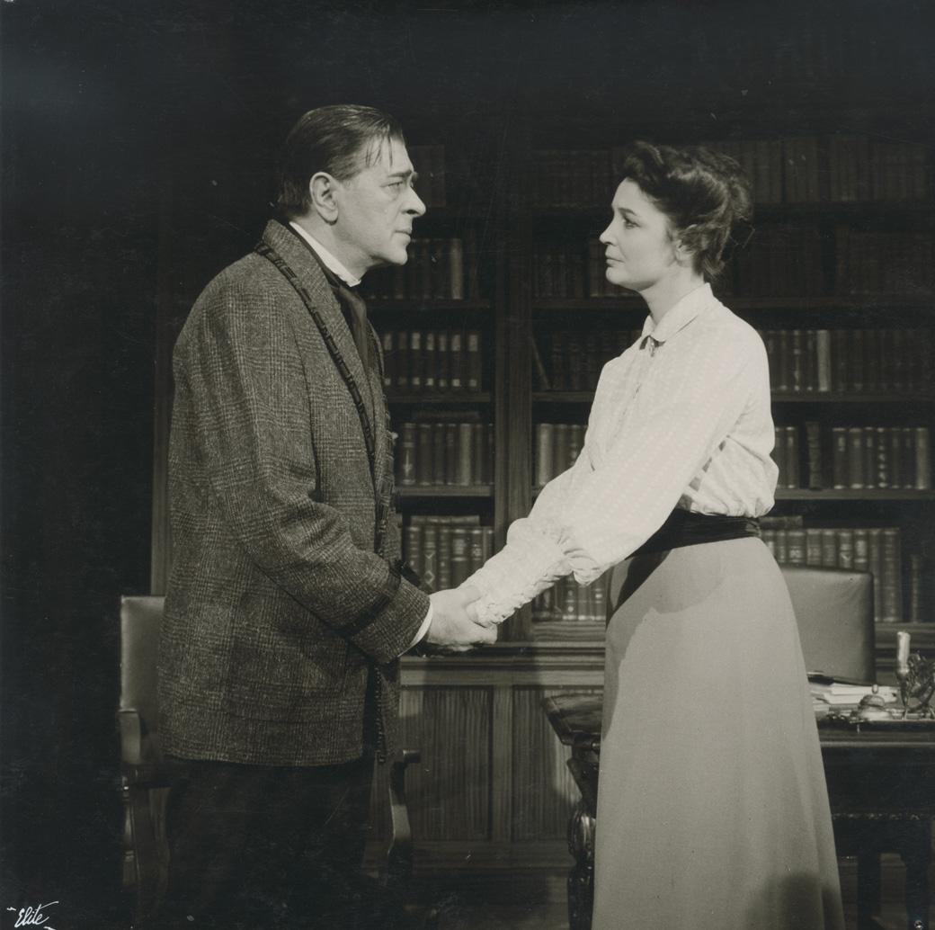 Ρόσμερσχολμ, Εθνικό Θέατρο, 1962, Άννα Συνοδινού, Θάνος Κωτσόπουλος