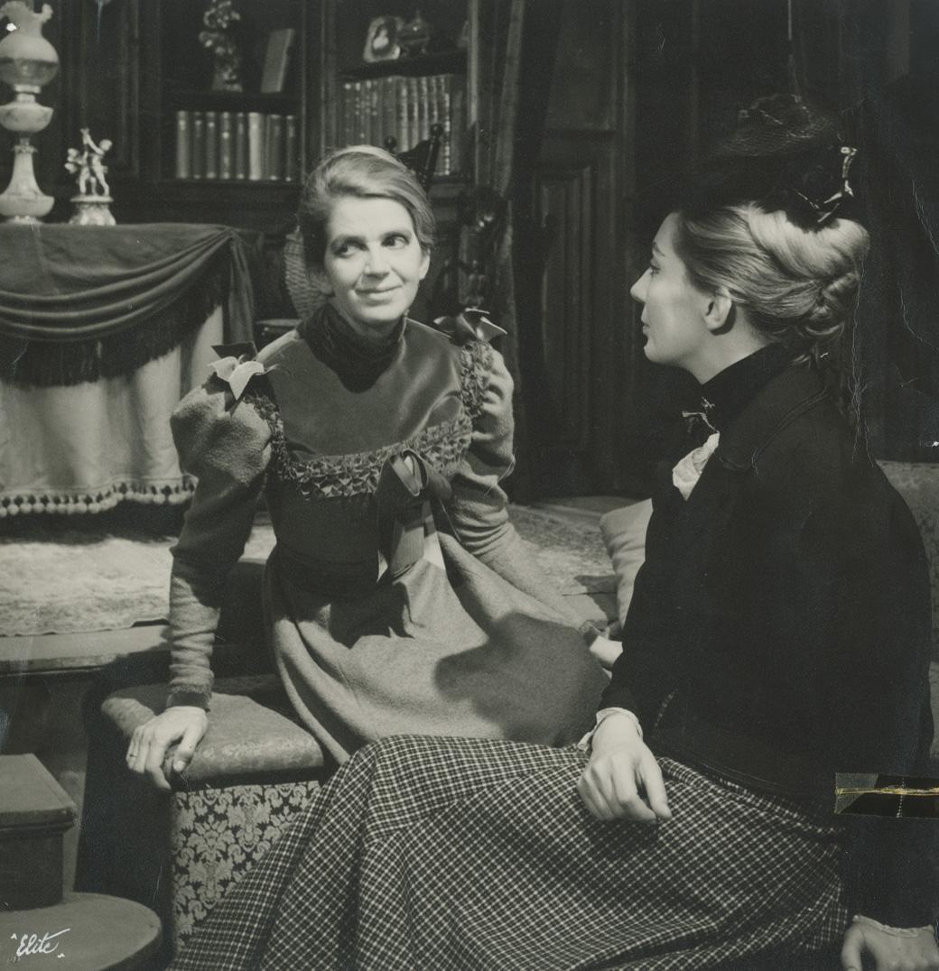 Το σπίτι της κούκλας (Νόρα), Εθνικό Θέατρο, 1964, Βάσω Μανωλίδου, Ελένη Χατζηαργύρη.