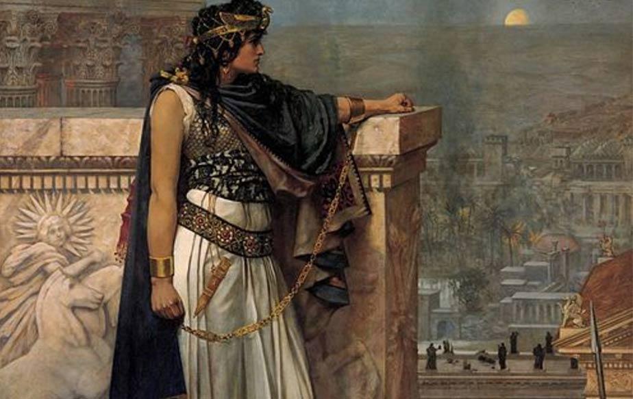 Η Ζηνοβία, σε πίνακα του Herbert Schmalz