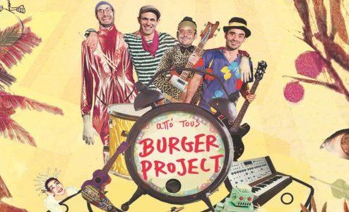 «Burger Project - Μαμά, θα κάνω μπάντα» στο The Hub Events