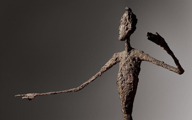 Alberto Giacometti (1901-1966), L'homme au doigt, 1947.