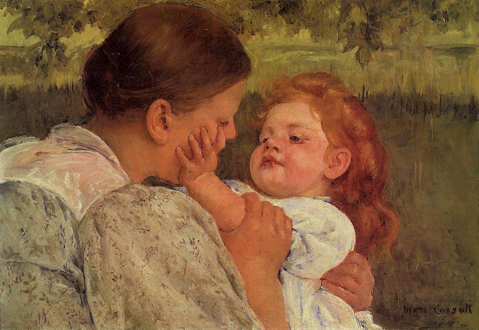 Maternal Caress, Mary Cassatt, Philadelphia Museum of Art, Philadelphia, PA, US