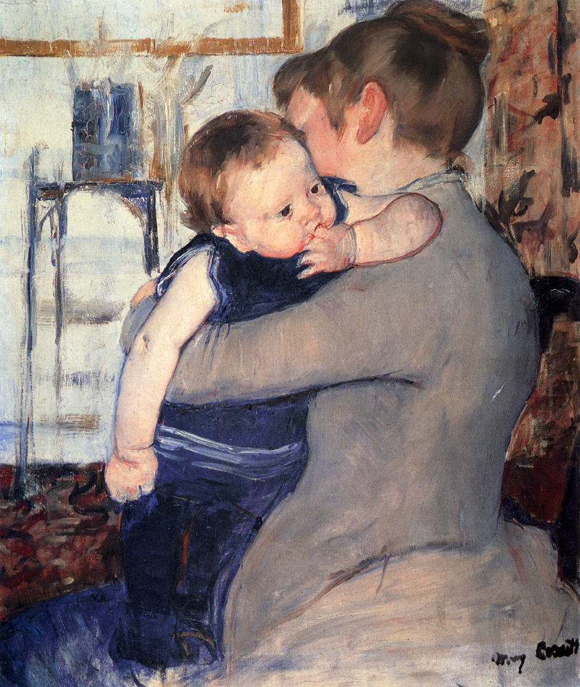 Mother And Child, Mary Cassatt, Private Collection