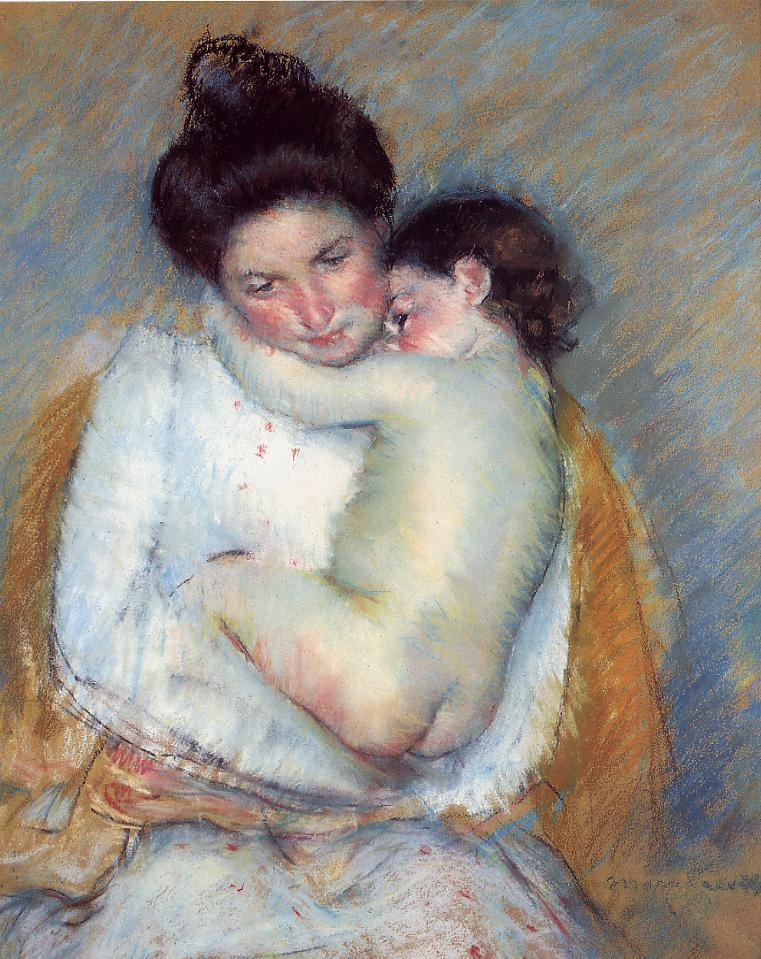 Mother And Child, Mary Cassatt, Art Institute of Chicago, Chicago, IL, US