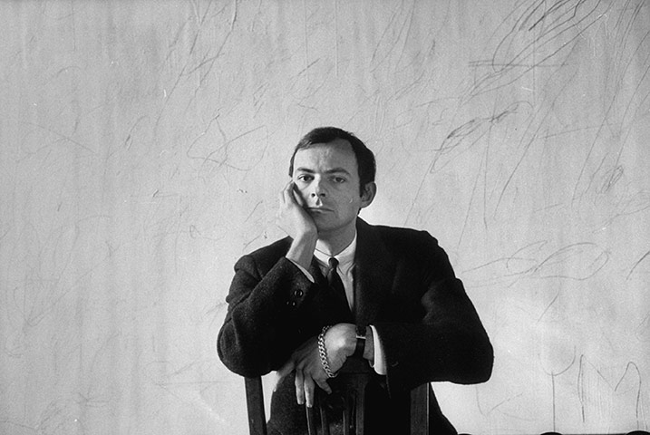 Cy Twombly, Απρίλιος 1958