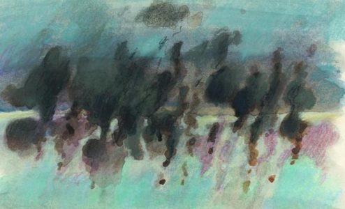 """Έκθεση ζωγραφικής της Βούλα Πριοβόλου με τίτλο """"Ρέουσες Μορφές"""""""