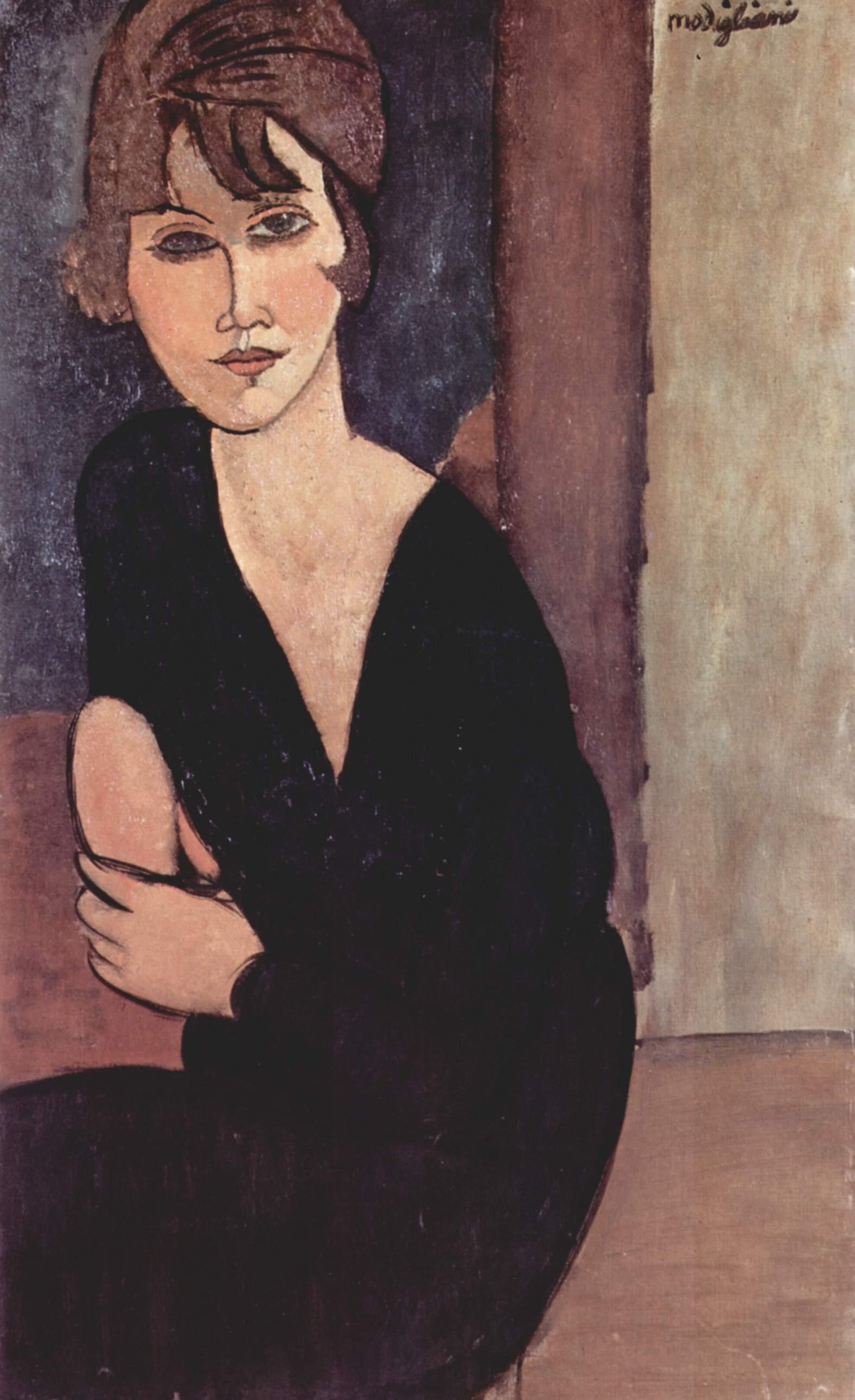 Portrait of Madame Reynouard (1916)