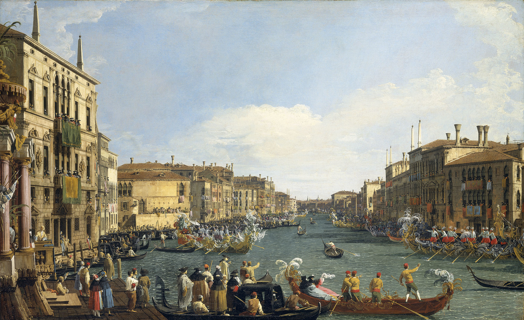 A Regatta on the Grand Canal c.1733-4