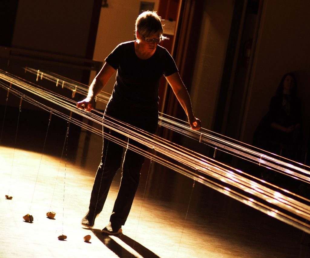 Ellen Fullman | Long String Instrument | © Robert Szkolnicki