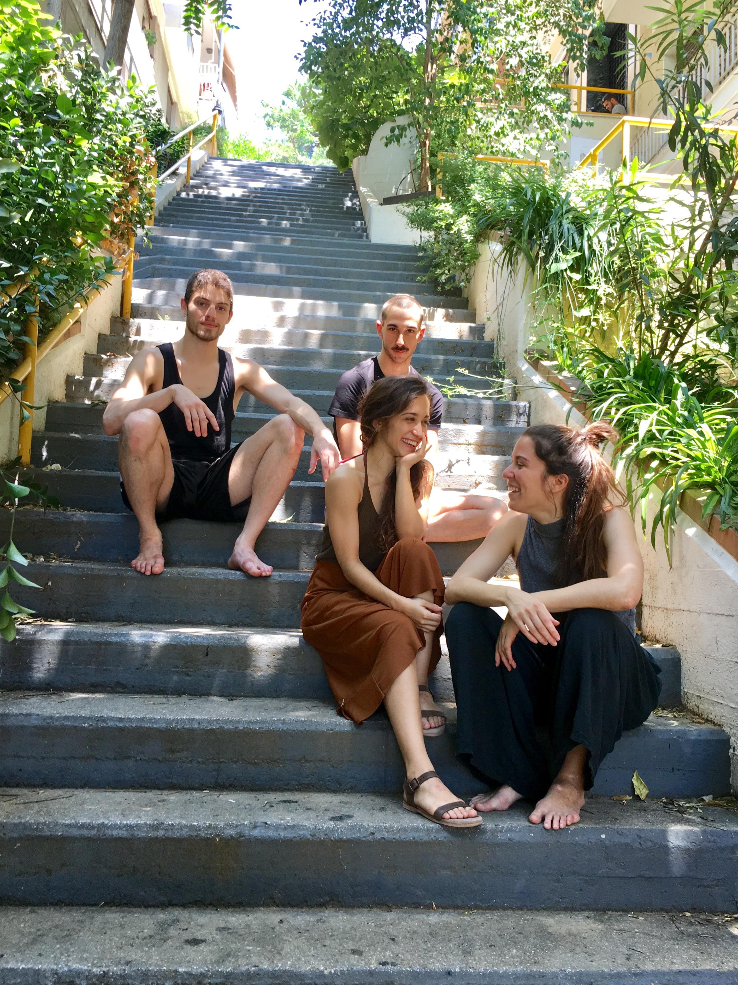 Τέσσερις νέοι χορευτές της Κρατικής Σχολής Χορού