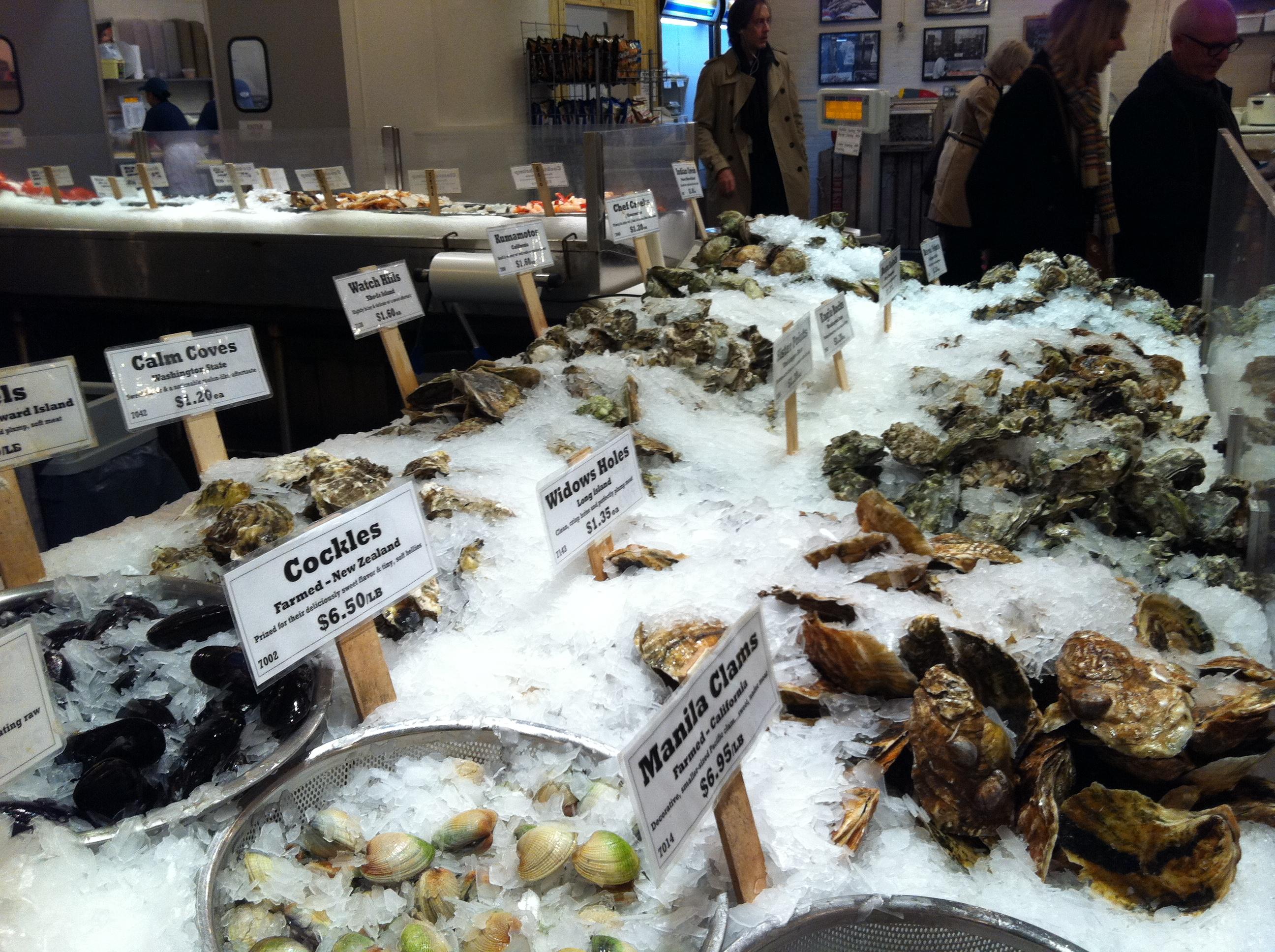 Chelsea market: 75 9th Ave, New York, NY 10011