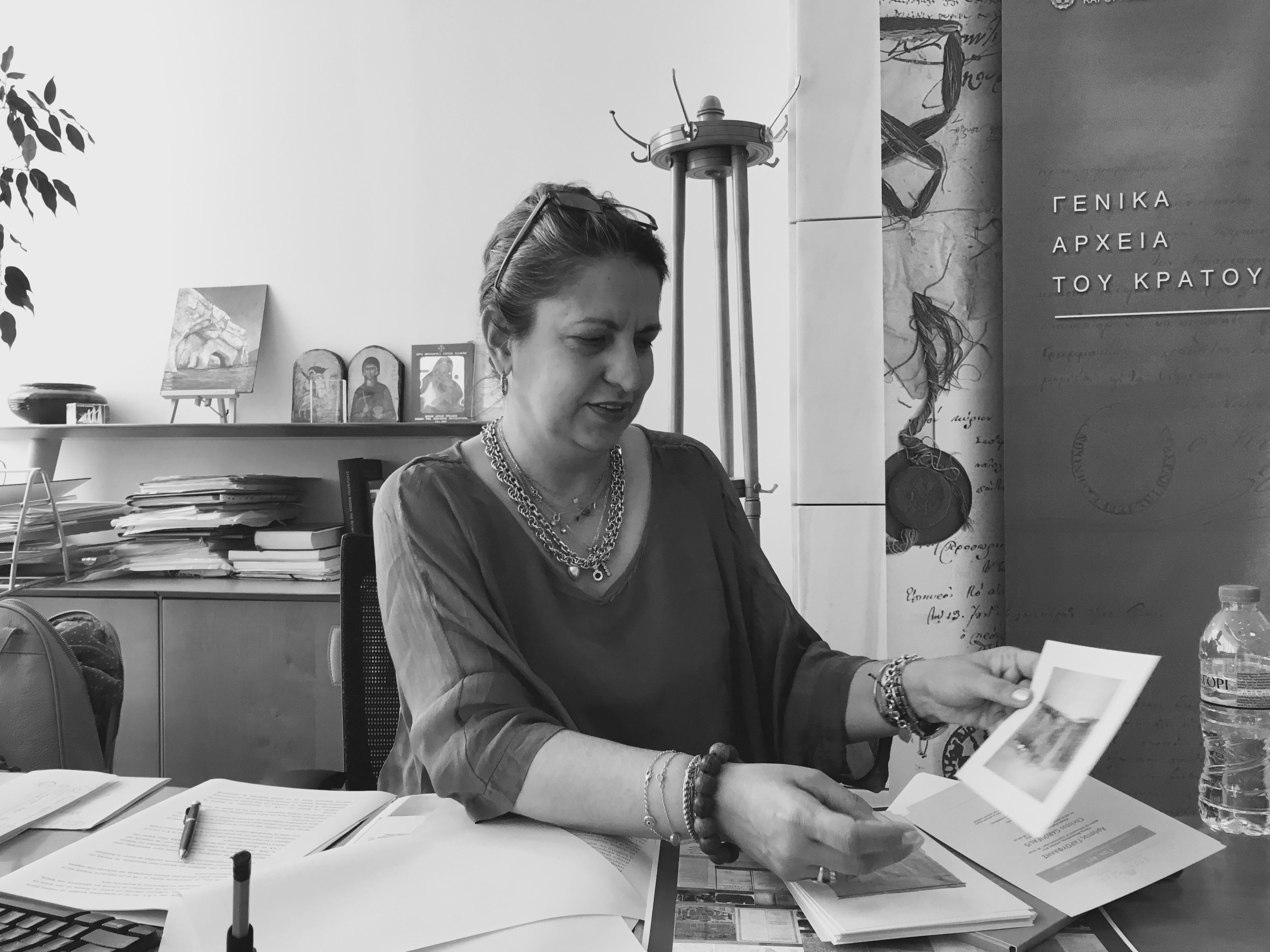 Η γενική διευθύντρια των ΓΑΚ Μαριέττα Μινώτου