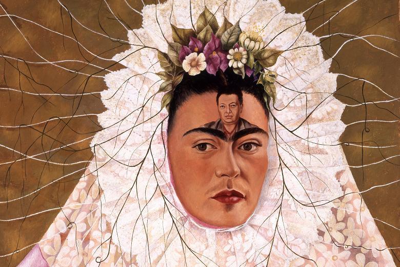 Diego On My Mind (self-portrait as Tehuana), 1943