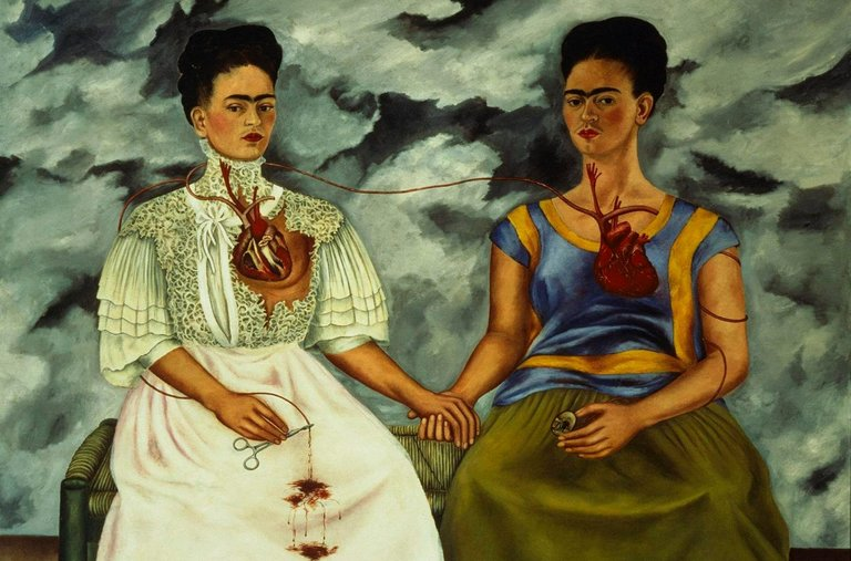 """The Two Fridas."", 1939"