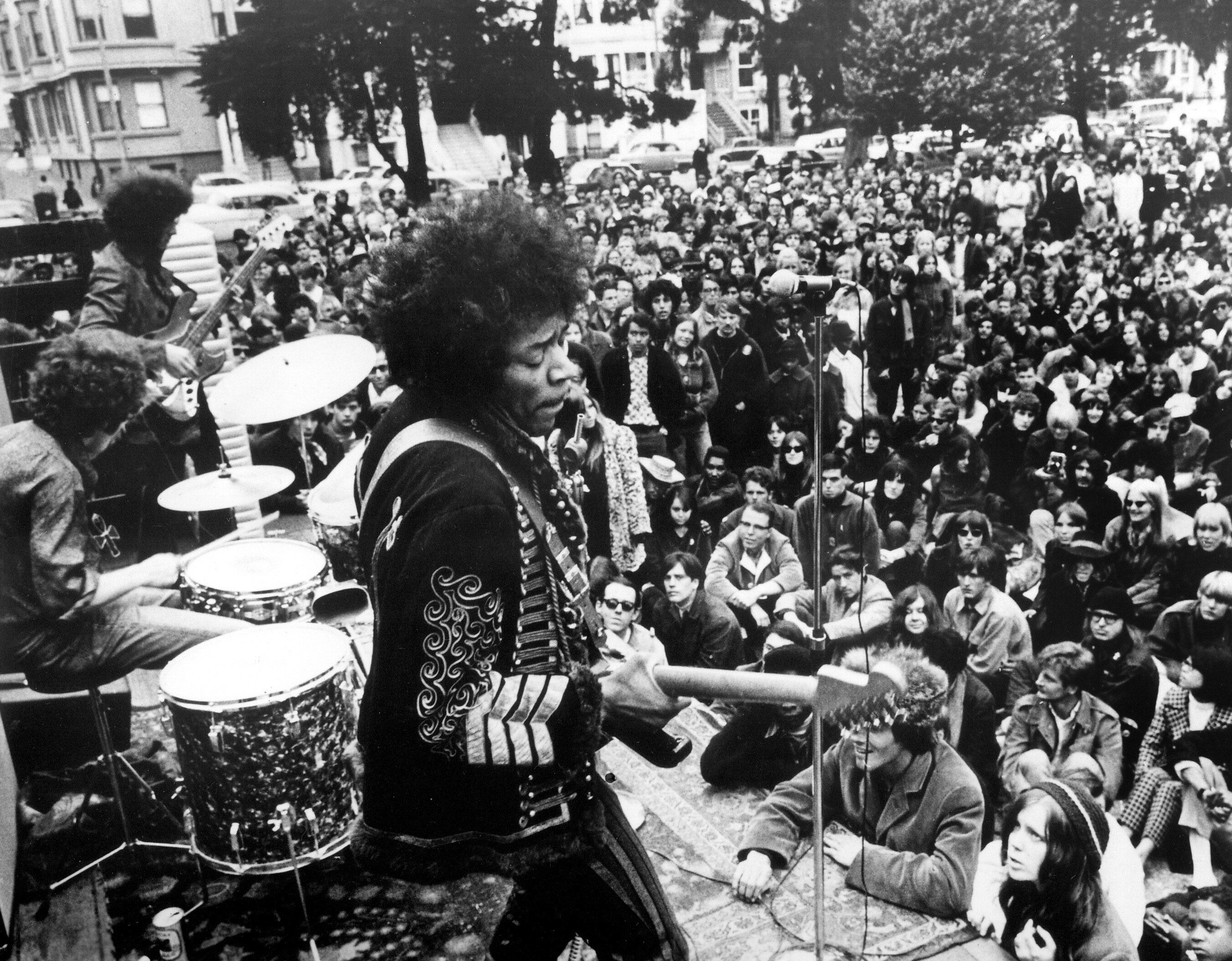 The Jimi Hendrix Experience (live at Golden Gate Park, June 25, 1967) - ©WENN.com