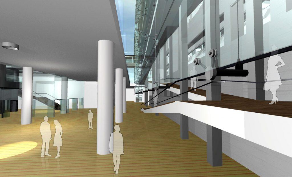 Tρισδιάστατη απεικόνιση της νέας πτέρυγας της Εθνικής Πινακοθήκης-Μουσείο Αλεξάνδρου Σούτζου