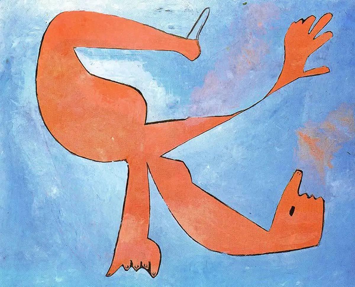 The Swimmer, Pablo Picasso, 1929
