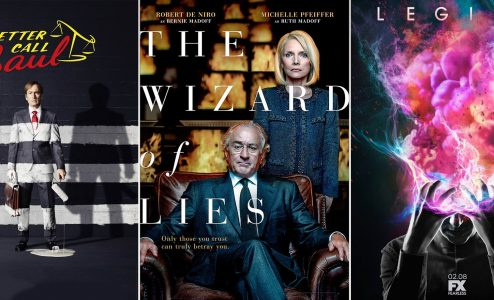 """Legion"" - ""Better Call Saul"" - ""Τhe Wizard of Lies"""